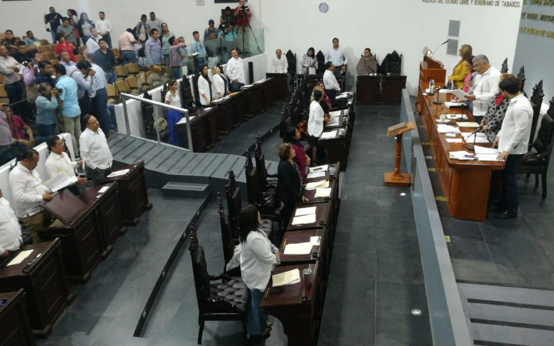 Congreso de Tabasco el primero en aprobar Minuta Constitucional en materia de Consulta Popular y Revocación de Mandato