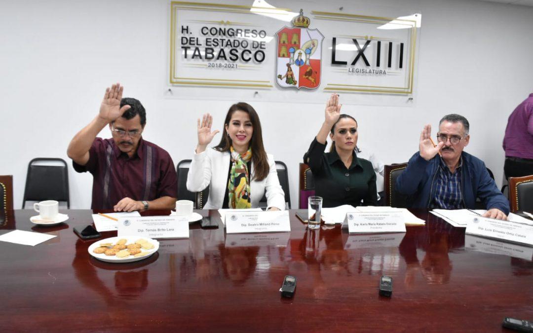 Aprueban en comisión reformas de Desarrollo Social, y sobre Bienes Asegurados