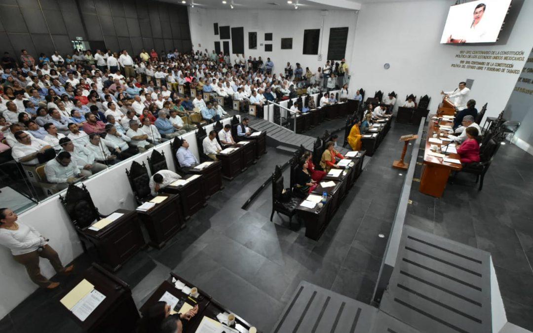 Concluye glosa del Primer Informe de Gobierno con la comparecencia del titular de la SEDENER