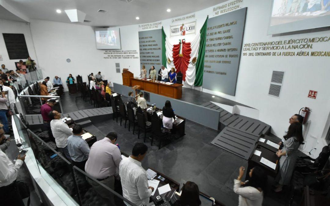 Avala Congreso Acuerdo Parlamentario para la entrega del Informe de Gobierno