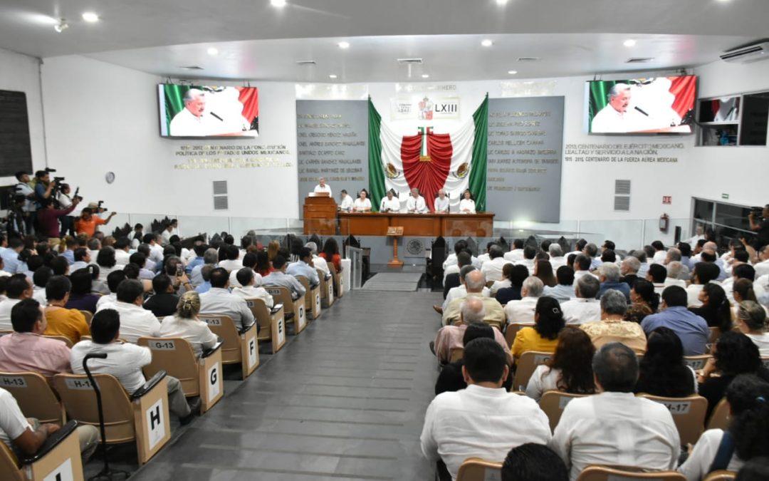 Comparece ante el Pleno de la LXIII Legislatura el Fiscal General del Estado