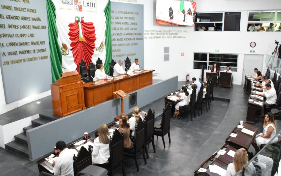 Expide Congreso local Presupuesto General de Egresos 2020 y Leyes de Ingresos Municipales