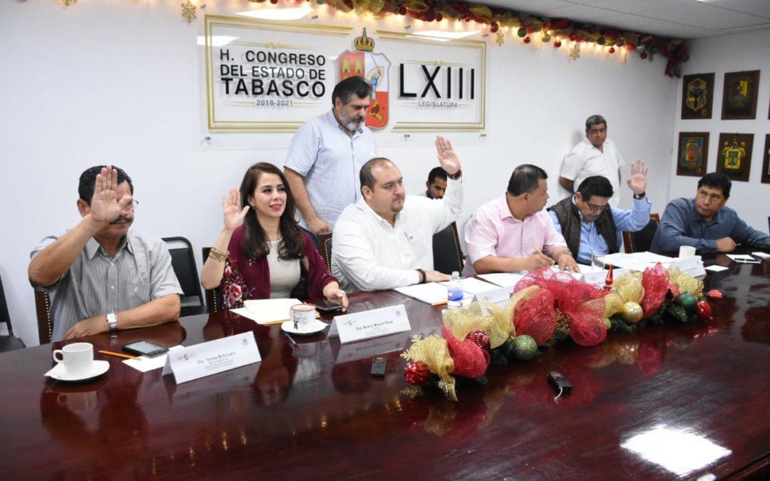 Aprueba Comisión de Hacienda y Finanzas el Paquete Económico y Leyes de Ingresos Municipales 2020