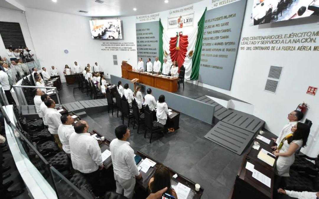 Culmina Primer Periodo Ordinario de Sesiones del Segundo Año de Ejercicio Constitucional