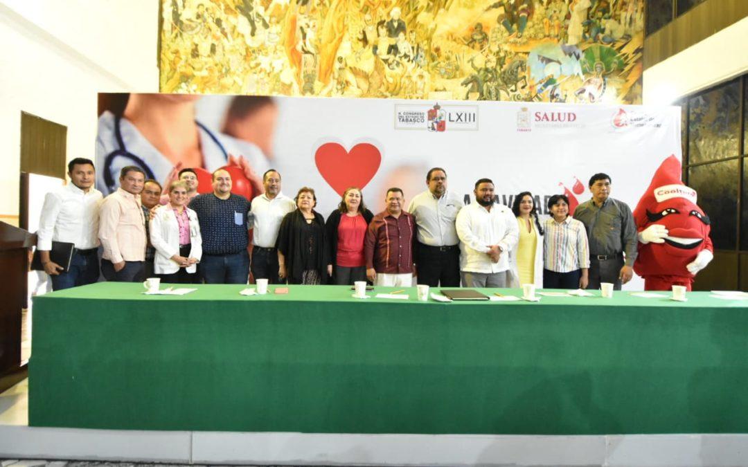 """Apoya Congreso Campaña de Donación Voluntaria de Sangre """"Esta Navidad Regala Vida"""""""