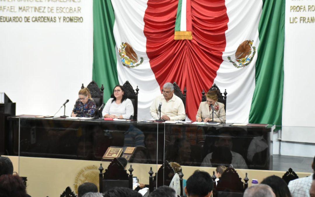 Continúa LXIII Legislatura trabajando en beneficio de la entidad