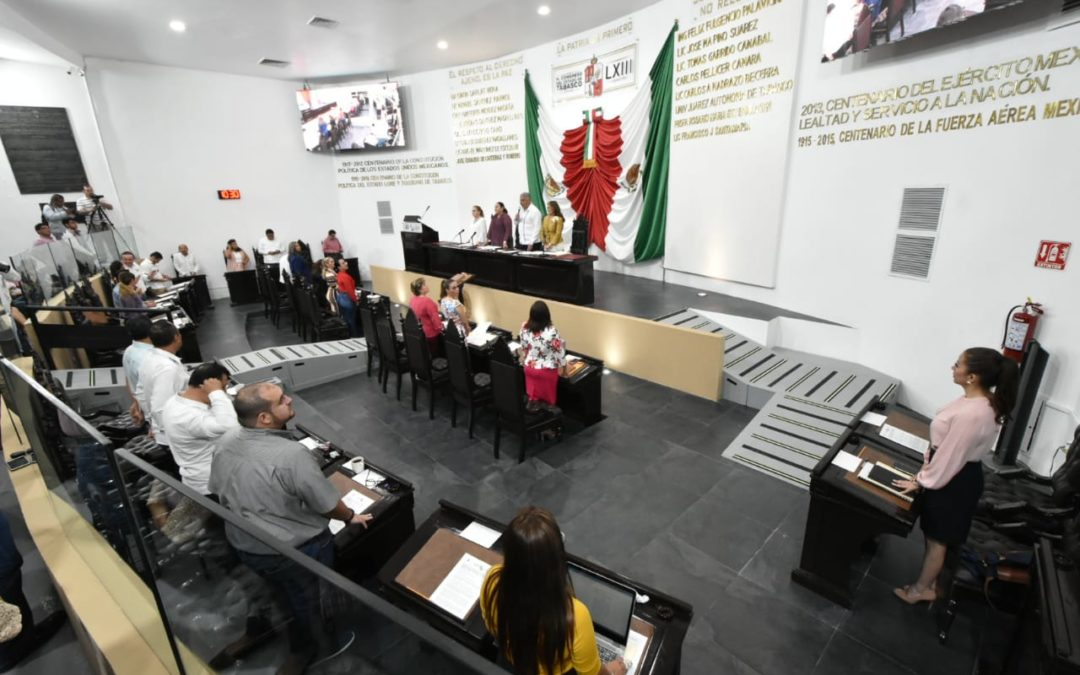 Avala LXIII Legislatura exhortos a favor del cuidado del medio ambiente