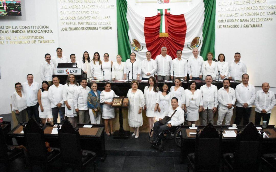 Inician trabajos del Segundo Periodo Ordinario de Sesiones del Segundo Año de ejercicio de la LXIII Legislatura