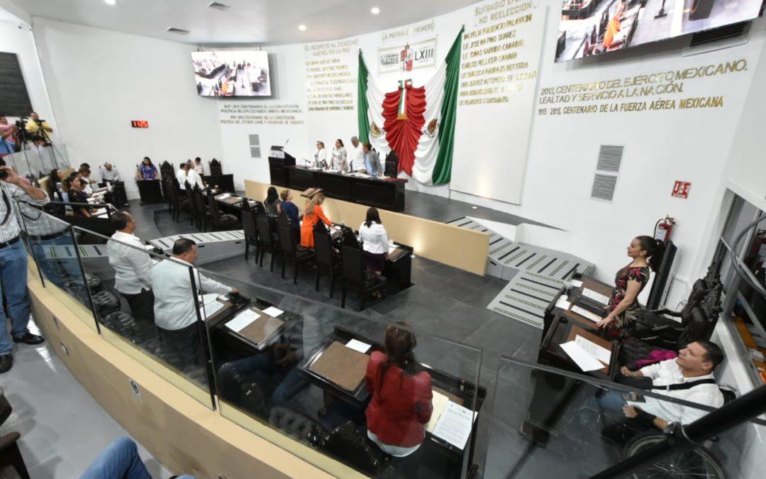 Impulsan legisladores reformas sobre cultura física, materia parlamentaria, civil, educativa y un exhorto sobre vialidad