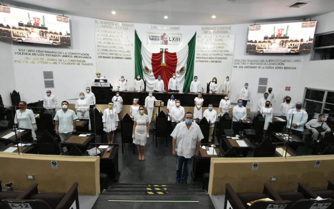 Clausuran trabajos del Segundo Periodo Ordinario de Sesiones del Segundo Año de la LXIII Legislatura
