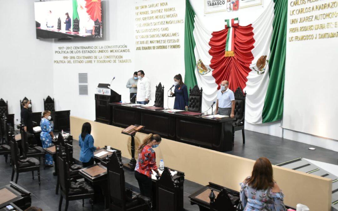 Recibe Congreso exhorto del Poder Ejecutivo para emitir declaración de desaparición del Ayuntamiento de Jalapa