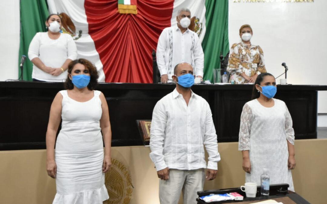 Nombra LXIII Legislatura al Concejo Municipal de Jalapa