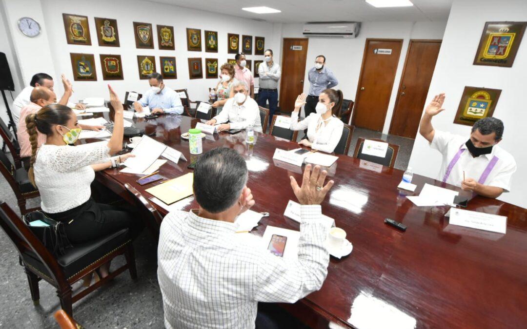 Aprueban en Comisión dictámenes relacionados con el Ayuntamiento de Jalapa