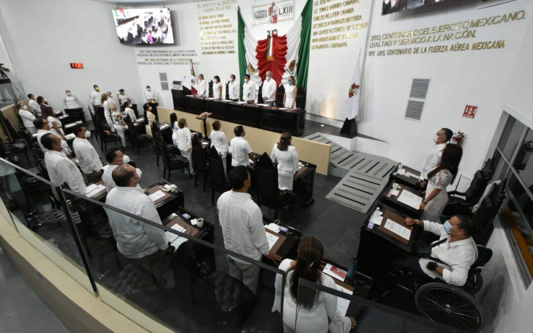 Inician trabajos del Tercer Año de la LXIII Legislatura