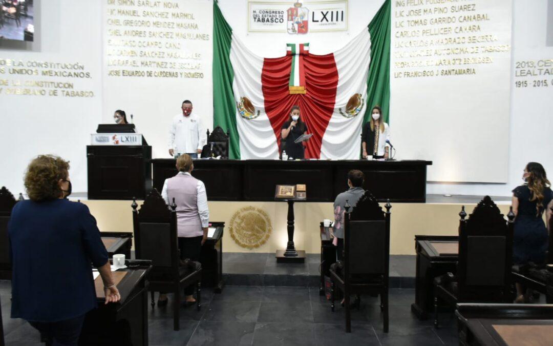Recibe Congreso exhorto del Poder Ejecutivo para declarar desaparición del Ayuntamiento de Macuspana