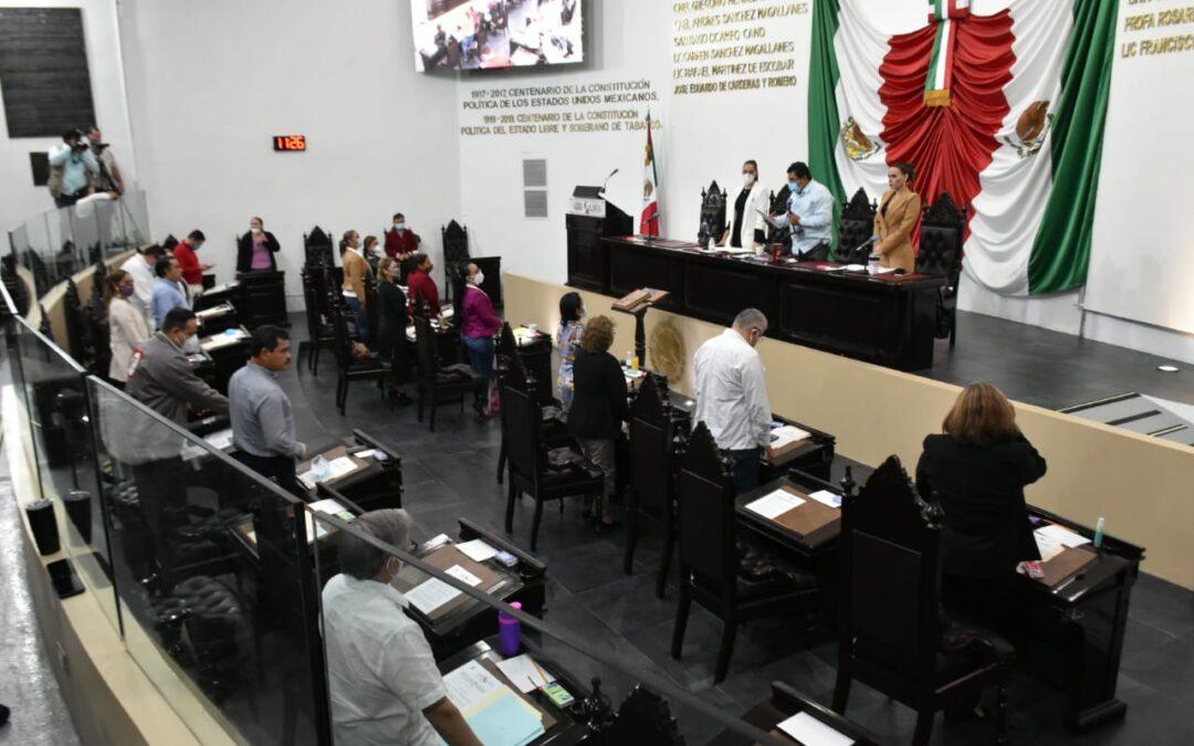 Avalan Acuerdo Parlamentario relativo a la entrega del Segundo Informe de Gobierno del Ejecutivo del Estado