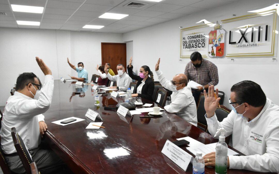 Avalan en Comisión reforma al Decreto de creación del Instituto de Vivienda de Tabasco