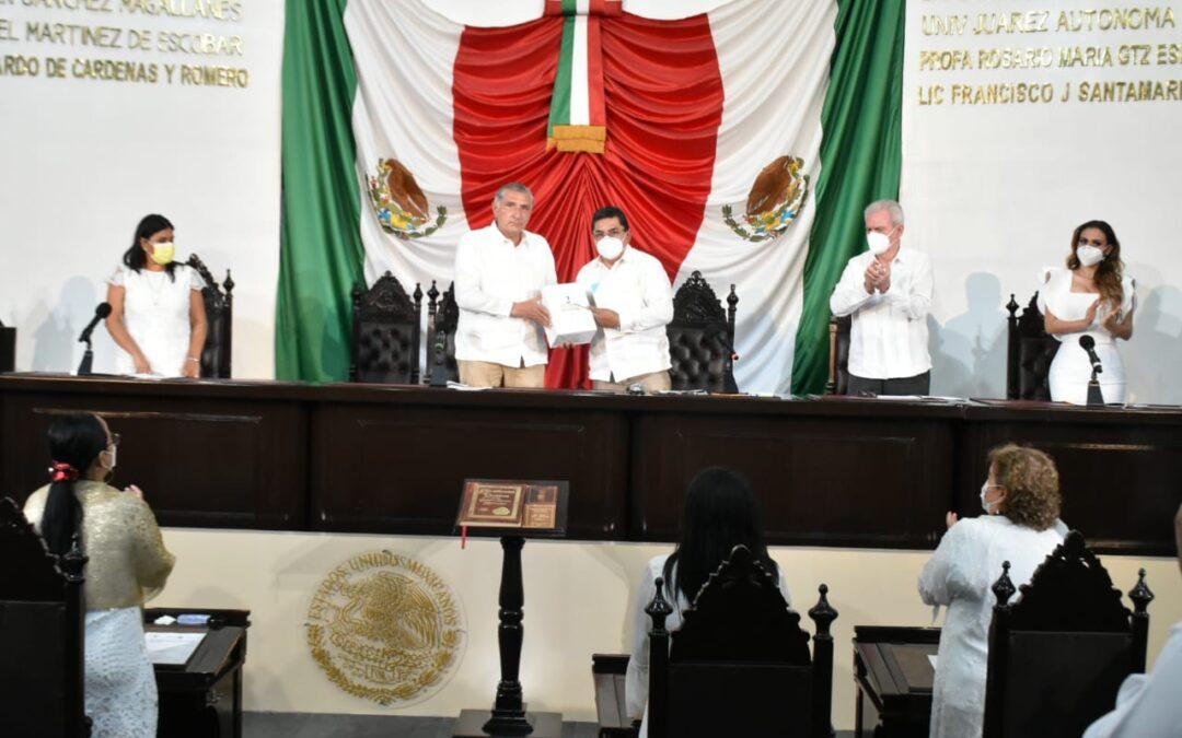 Acuerda Jucopo que el lunes 30 de noviembre acuda el Gobernador del Estado ante el Pleno de la LXIII Legislatura