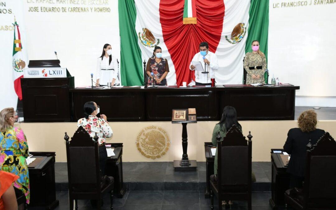 Emite Congreso Acuerdo Parlamentario para la glosa del Segundo Informe de Gobierno