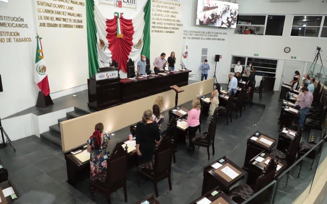 Congreso de Tabasco primer estado en avalar Minuta de Decreto en materia de Fuero Presidencial