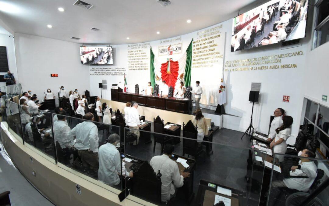 Avala Congreso Acuerdo Parlamentario para posponer mensajes con motivo del Segundo Informe de Gobierno