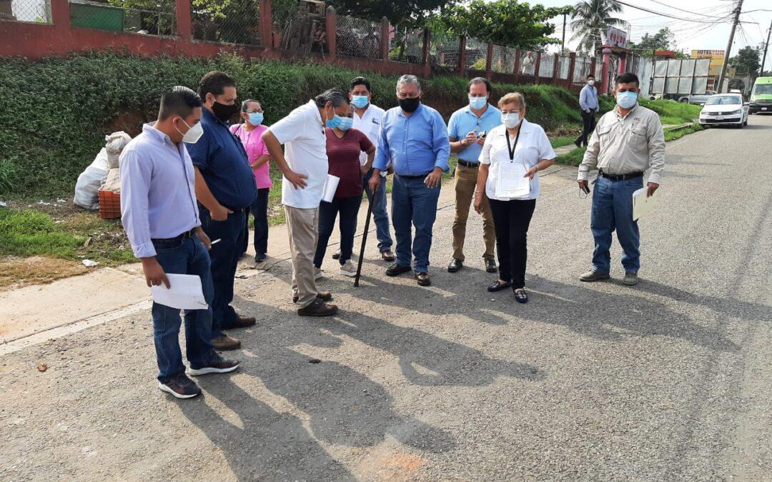 Concluyen inspectoras de Hacienda Primera y Tercera, etapa de supervisión física de obras