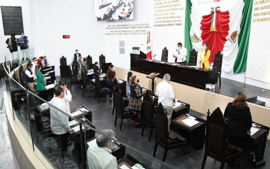 Avala Congreso local Paquete Económico y leyes de Ingresos del Ejercicio Fiscal 2021