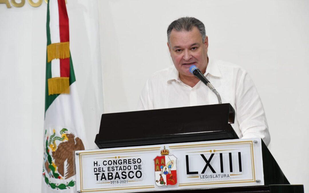 Afirma Palomera Cano que pese a las adversidades, el gasto público se ejerce con austeridad y eficiencia