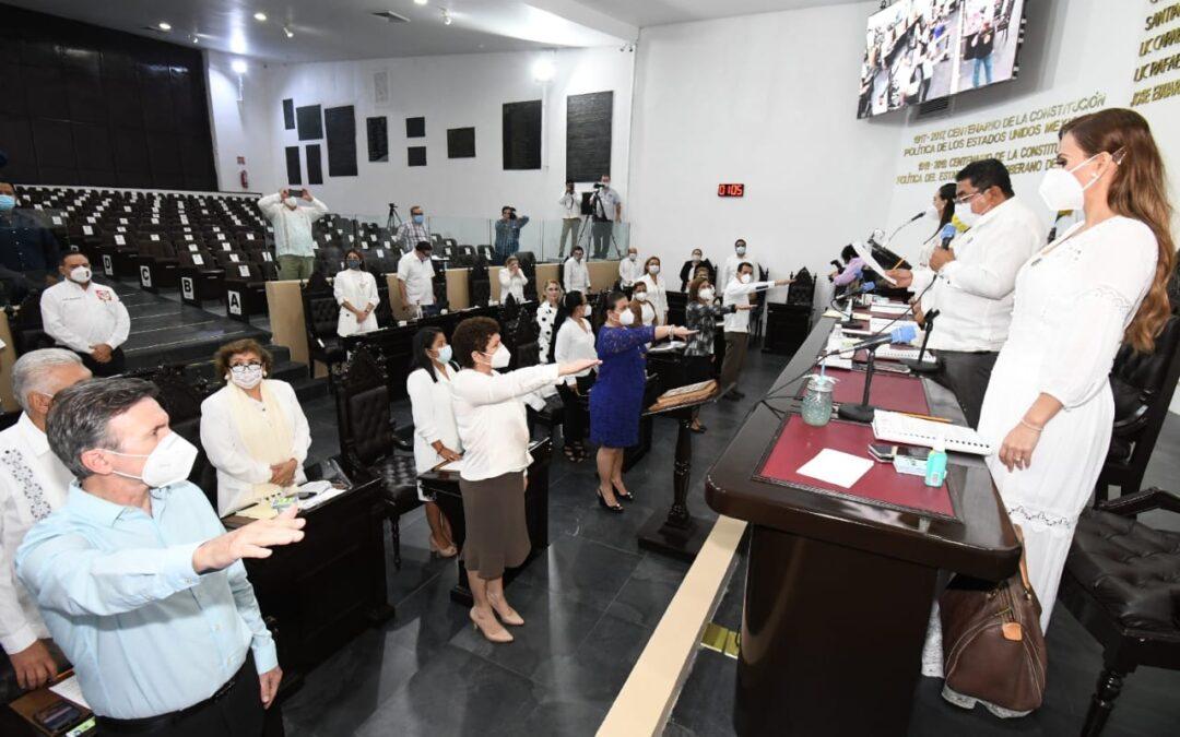 Aprueba Congreso cuentas públicas de los Tres Poderes, órganos autónomos, 15 municipios, y reprueba las de Jalapa y Macuspana