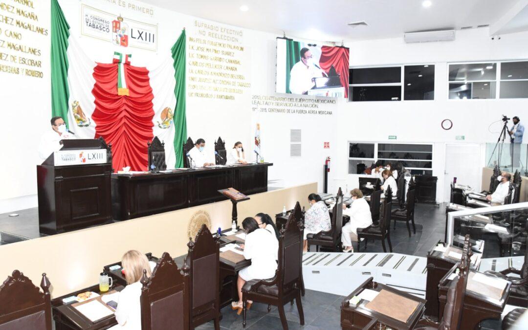 Presentan informe de actividades de la Comisión Permanente