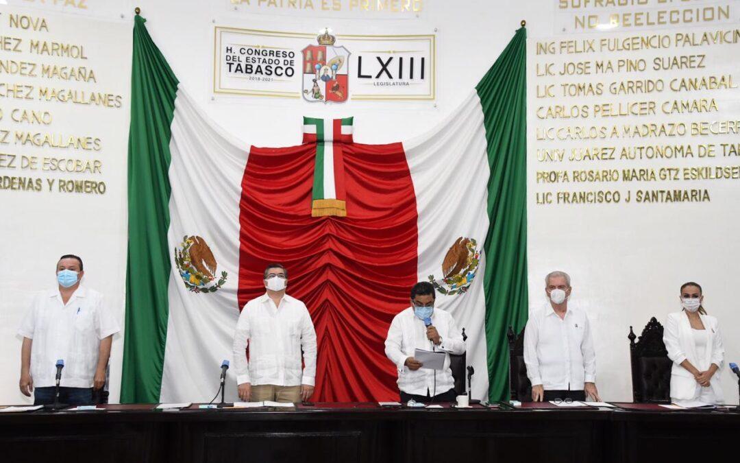 Inicia LXIII Legislatura Segundo Periodo Ordinario de Sesiones del Tercer Año de Ejercicio Constitucional