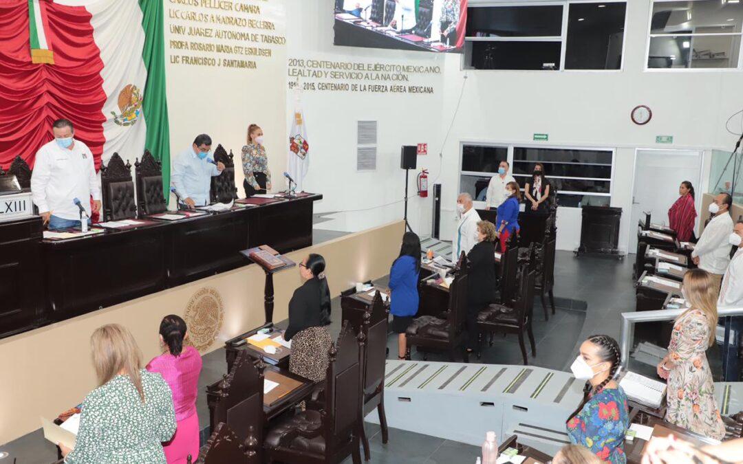 Avalan Agenda Legislativa para Segundo Periodo Ordinario de Sesiones
