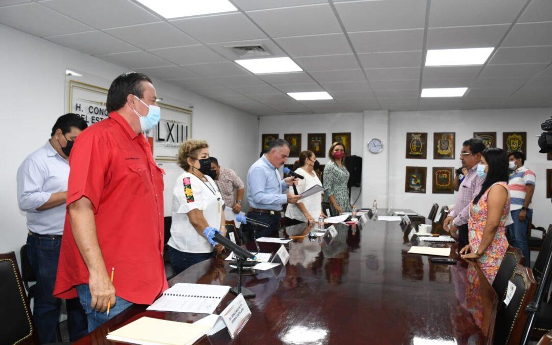 Exhortan legisladores a que se realicen acciones a favor de trabajadores del estado y de pescadores tabasqueños