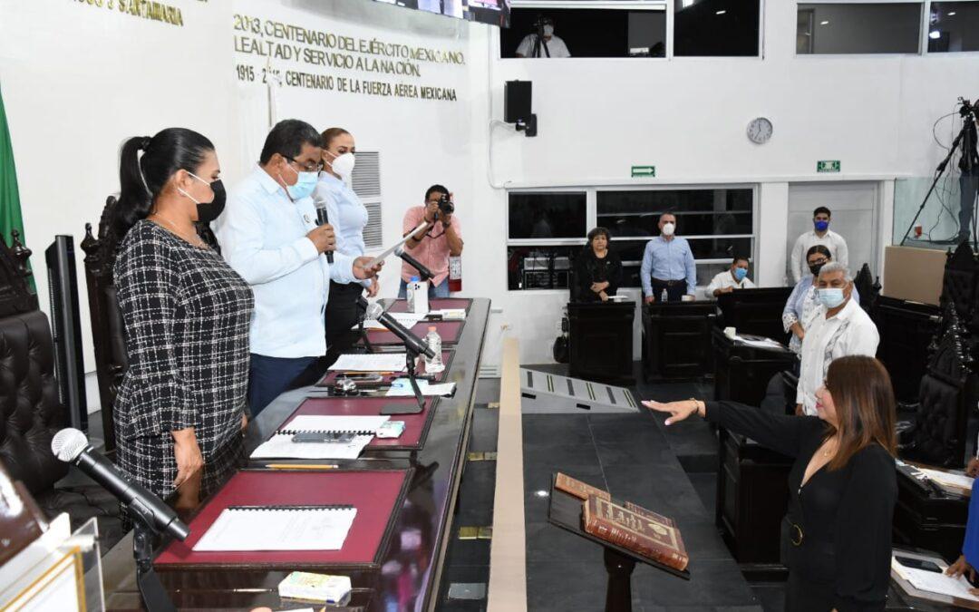 Rinde protesta como integrante de la LXIII Legislatura la ciudadana María Jiménez Acosta