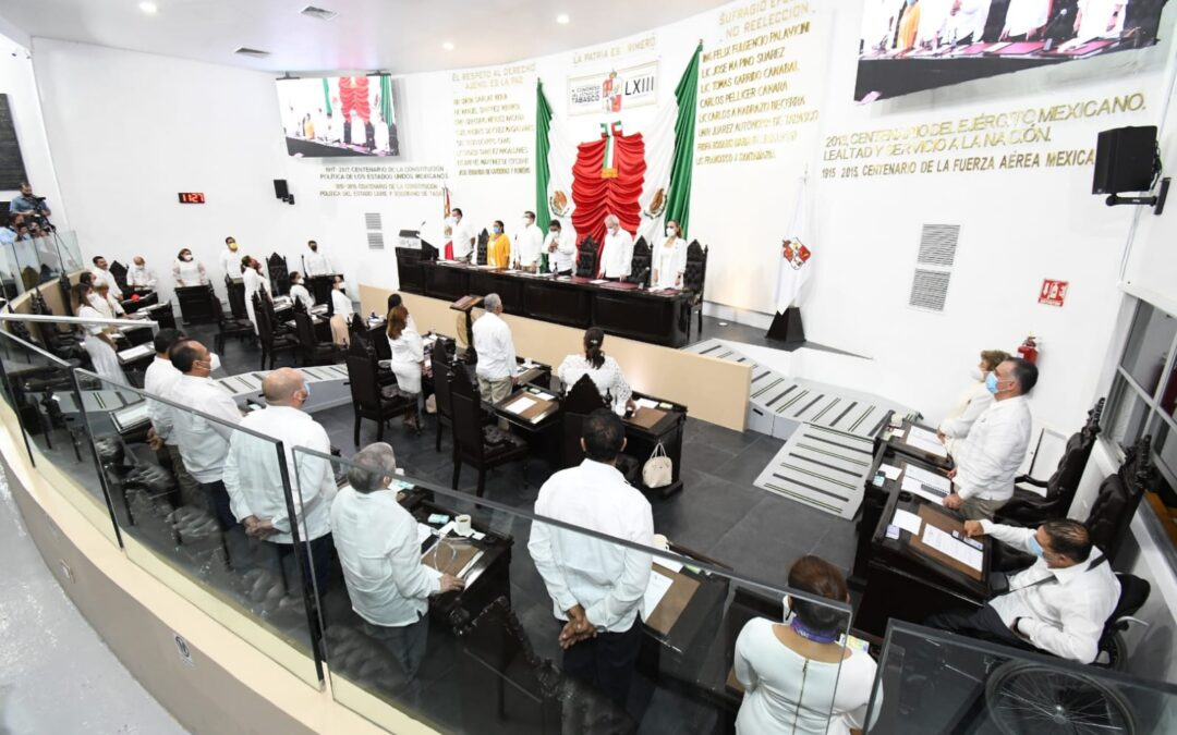 Clausuran Segundo Periodo de Sesiones e instalan Comisión Permanente