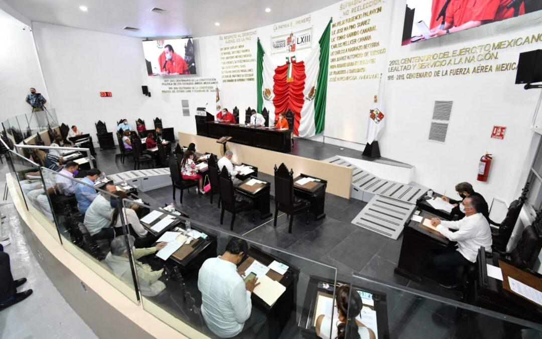Avala Congreso modificar Ley Orgánica de los Municipios y actualizar organización de comisiones ordinarias