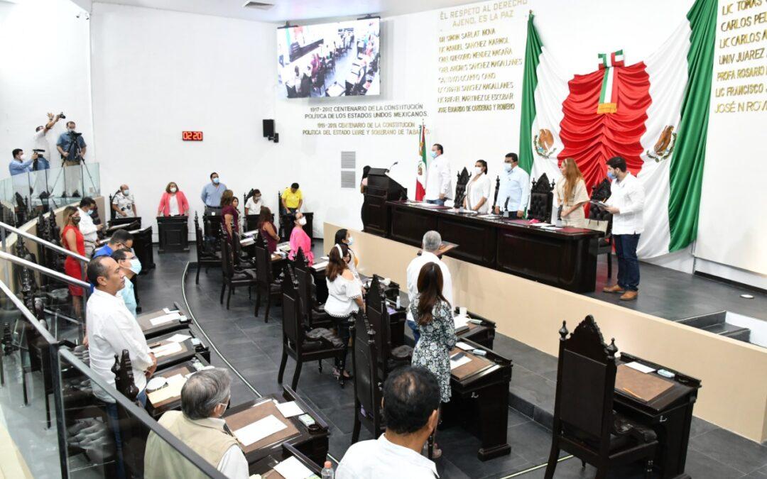 Avala Congreso reforma en materia de licencia al cargo de Gobernador Constitucional y designación de Gobernador Interino