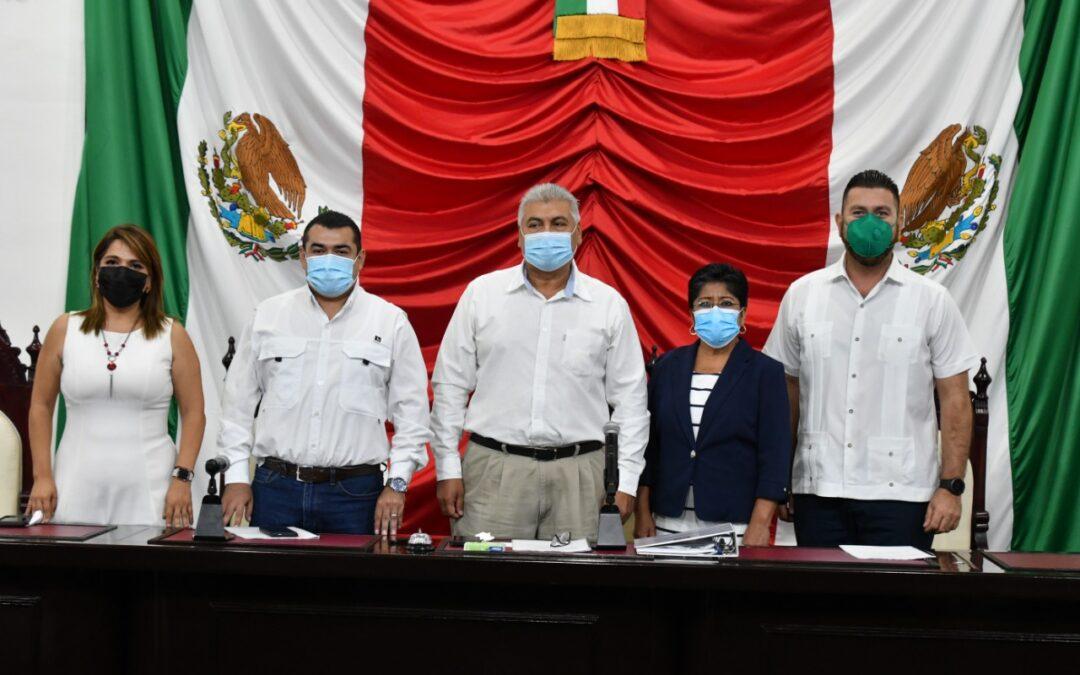 Constituyen Junta Preparatoria de la LXIV Legislatura