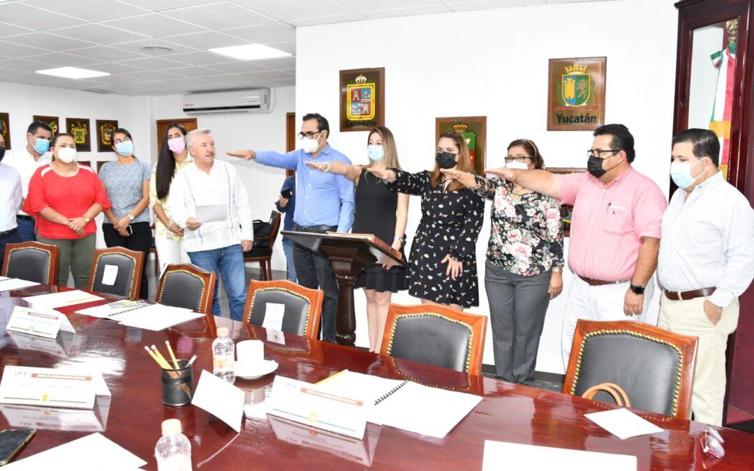 Toma protesta Jucopo a integrantes del Comité de Adquisiciones, Arrendamientos y Prestación de Servicios