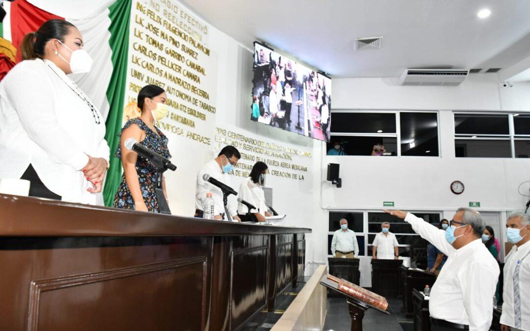 Avalan nombramiento del Secretario de Asuntos Parlamentarios de la LXIV Legislatura