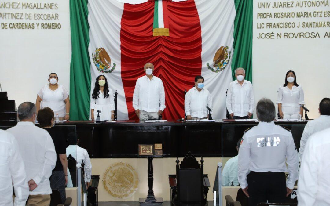 Inicia Ejercicio Constitucional de la LXIV Legislatura