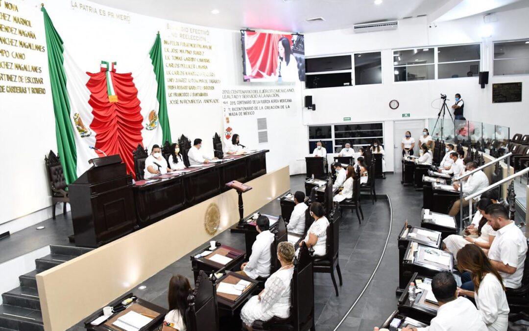 Constituyen Fracciones Parlamentarias e instalan Junta de Coordinación Política de la LXIV Legislatura