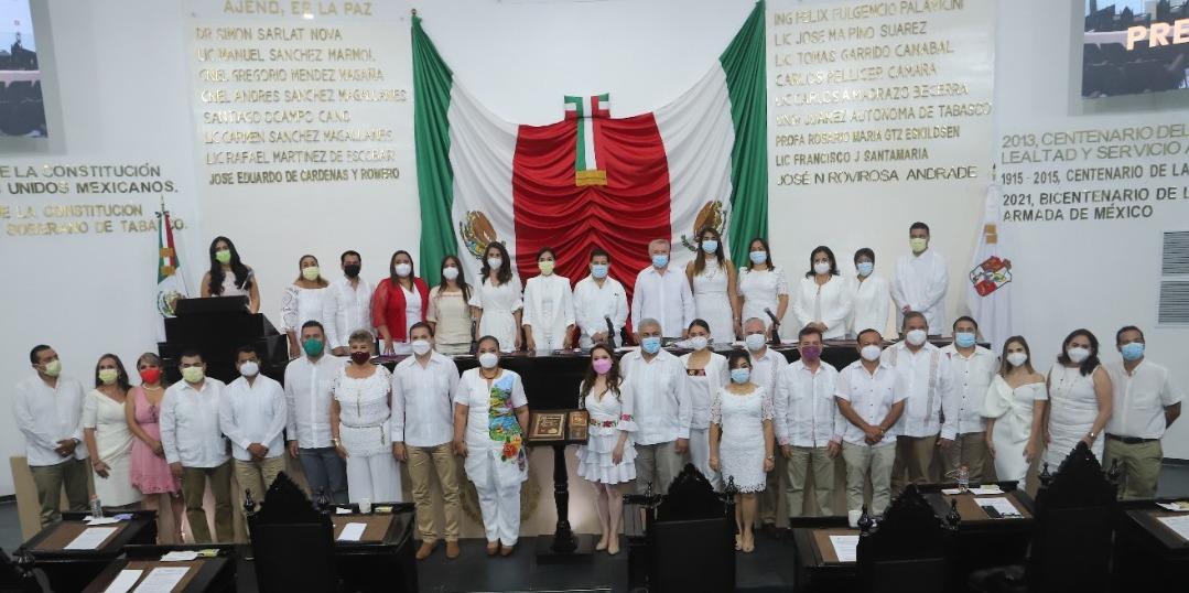 Rinden protesta diputados de la LXIV Legislatura al H. Congreso del Estado de Tabasco
